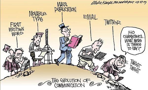 comms evolution